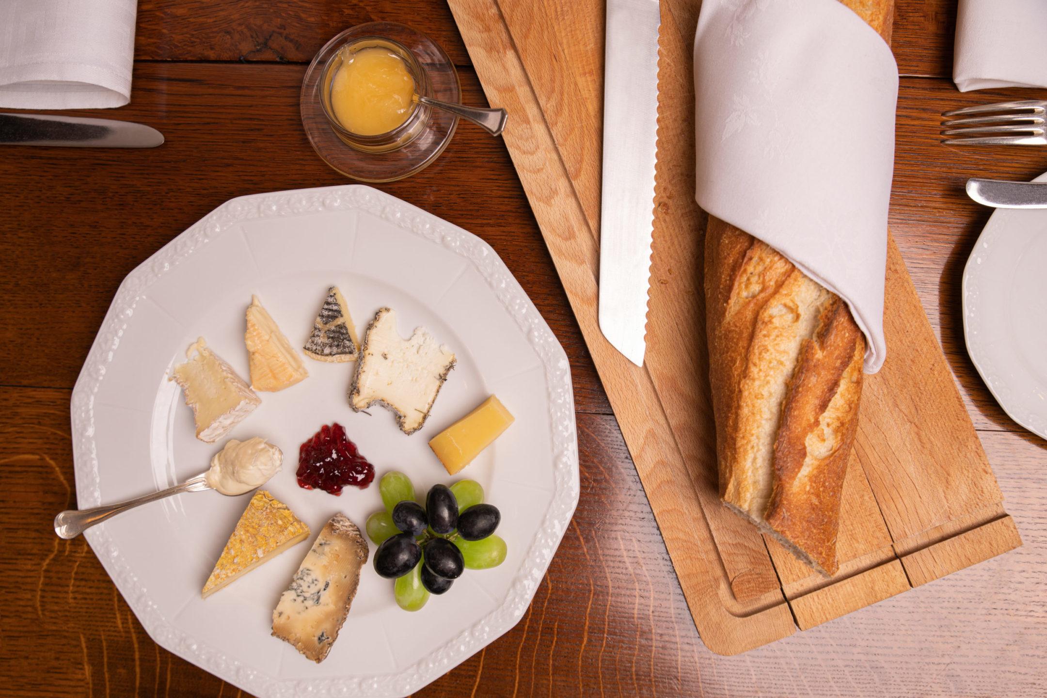 Käseseminar im Restaurant Goldener Anker
