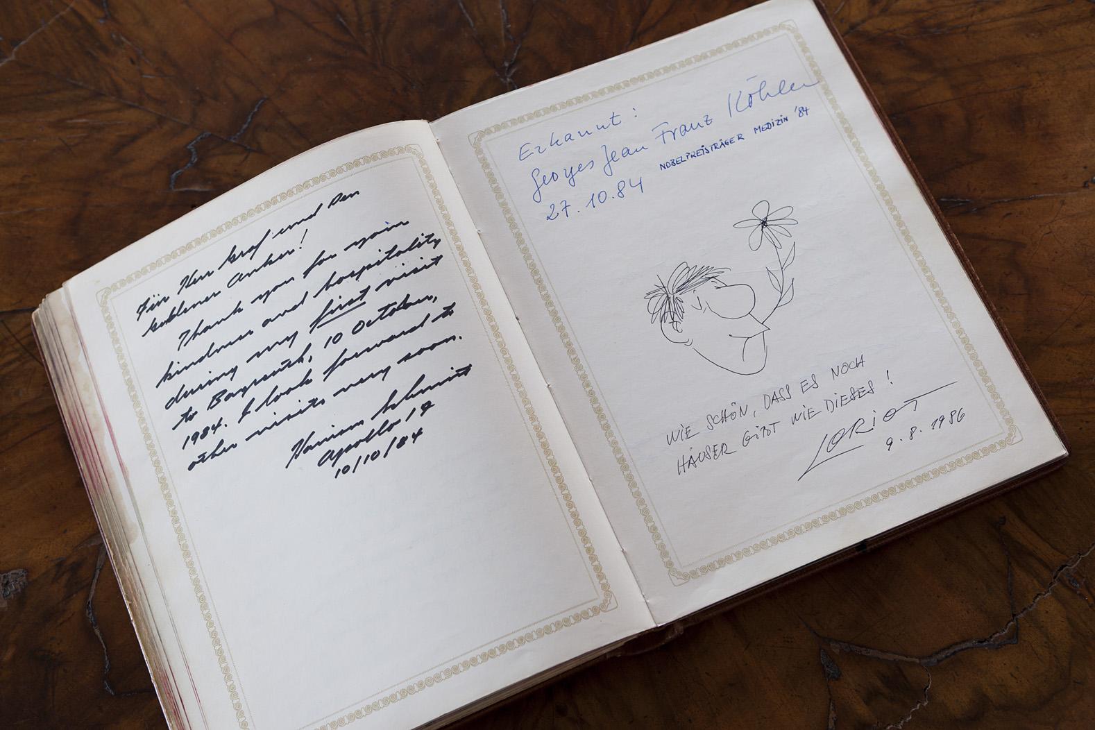 Historisches Gästebuch