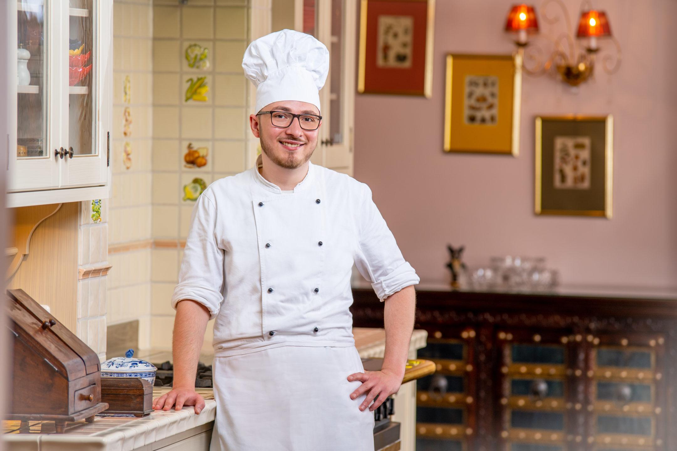 Küchenchef Portrait